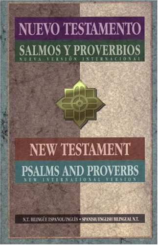 NIV Spanish - English New Testaments Psalms and Proverbs   1996 edition cover