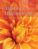 Algebra and Trigonometry:   2015 edition cover