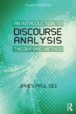 Introduction to Discourse Analysis Theory and Method 4th 2014 (Revised) edition cover
