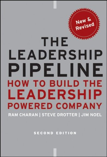 Leadership Pipeline How to Build the Leadership Powered Company 2nd 2011 edition cover