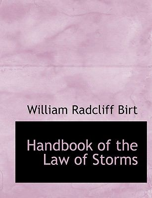 Handbook of the Law of Storms  2008 edition cover