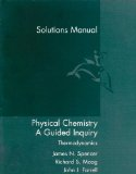 Physical Chemistry A Guided Inquiry - Thermodynamics  2004 edition cover