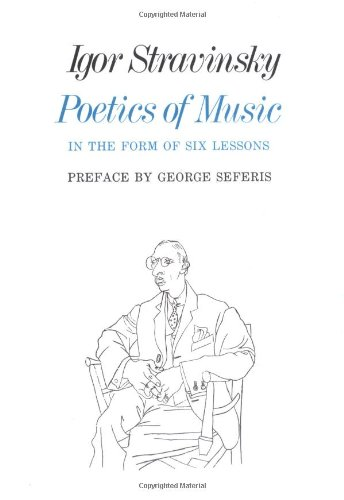 Poetics of Music in the Form of Six Lessons   1970 edition cover