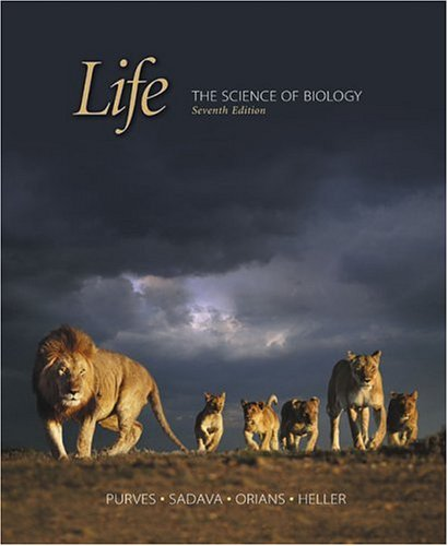 Life The Science of Biology and Lecture Notebook 7th 2004 edition cover