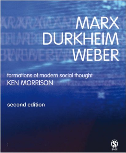 Marx, Durkheim, Weber Formations of Modern Social Thought 2nd 2006 edition cover