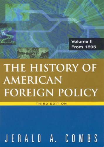 History of American Foreign Policy from 1895  3rd 2009 (Revised) edition cover