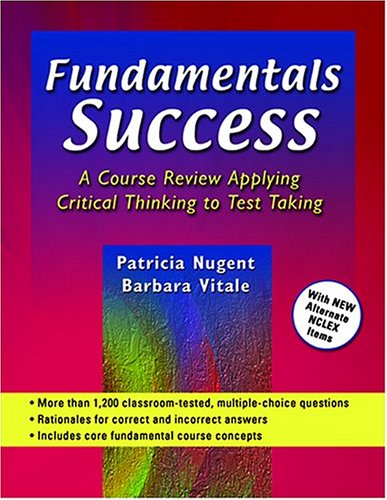 Fundamentals Success A Course Review Applying Critical Thinking to Test Taking  2003 edition cover