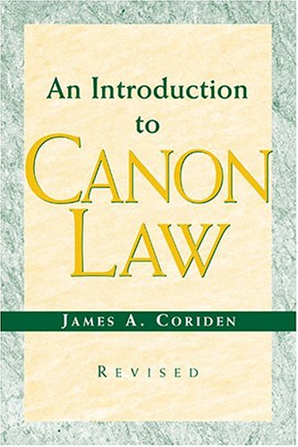Introduction to Canon Law  2nd 2004 (Revised) edition cover
