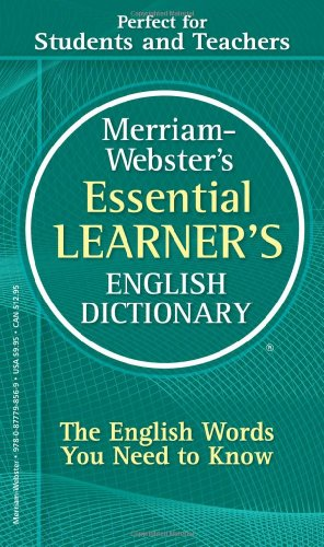 Merriam-Webster's Essential Learner's English Dictionary   2010 edition cover