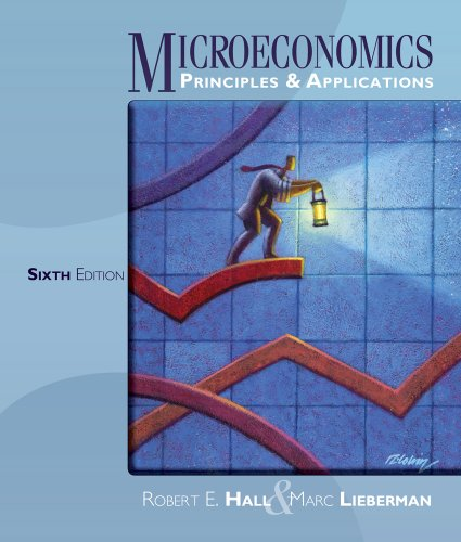 Microeconomics Principles and Applications 6th 2013 edition cover