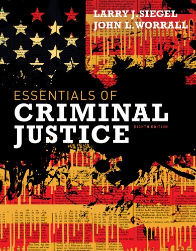 Essentials of Criminal Justice  8th 2013 edition cover