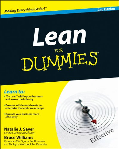 Lean for Dummies  2nd 2012 edition cover