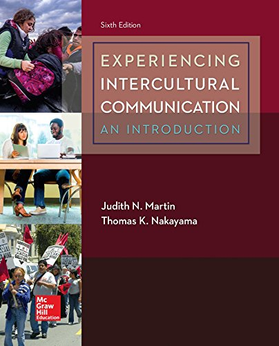 Experiencing Intercultural Communication: An Introduction  2017 9781259870569 Front Cover