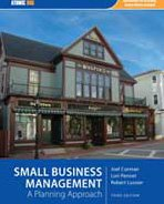 Small Business Management A Planning Approach 3rd 2009 edition cover