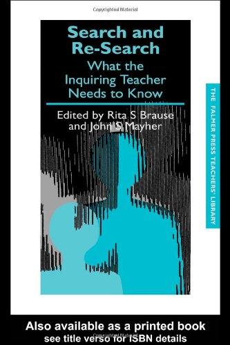 Search and Re-Search What the Inquiring Teacher Needs to Know  1991 edition cover