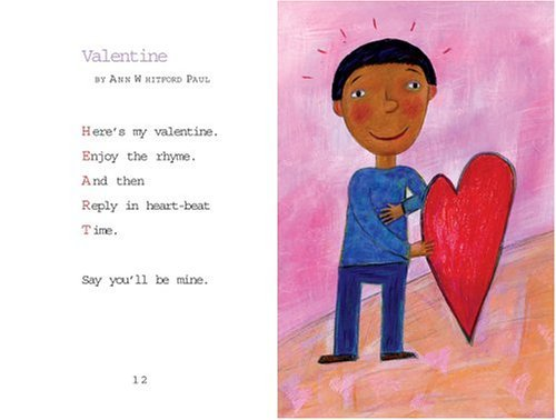 Valentine Hearts : Holiday Poetry  2005 9780060080570 Front Cover