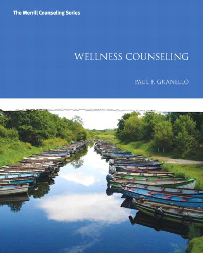 Wellness Counseling   2013 edition cover