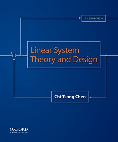 Linear System Theory and Design  4th edition cover