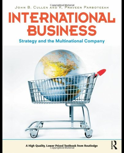 International Business Strategy and the Multinational Company  2010 edition cover