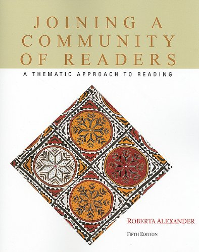 Joining a Community of Readers  5th 2011 edition cover
