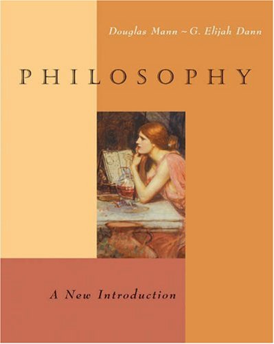 Philosophy A New Introduction  2005 9780534600570 Front Cover