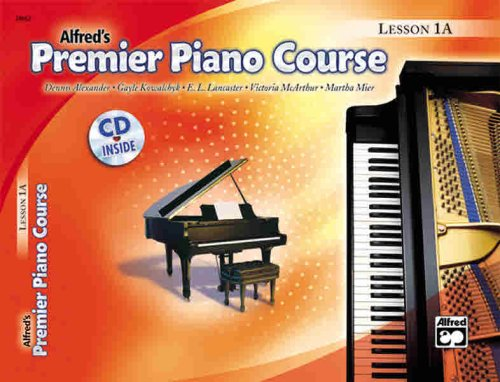 Alfred's Premier Piano Course Lesson 1A N/A edition cover