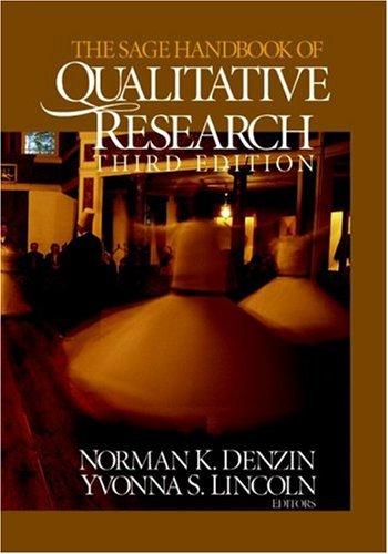 SAGE Handbook of Qualitative Research  3rd 2005 (Revised) edition cover
