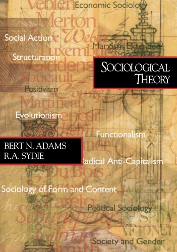 Sociological Theory   2001 edition cover