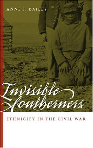 Invisible Southerners Ethnicity in the Civil War  2006 edition cover