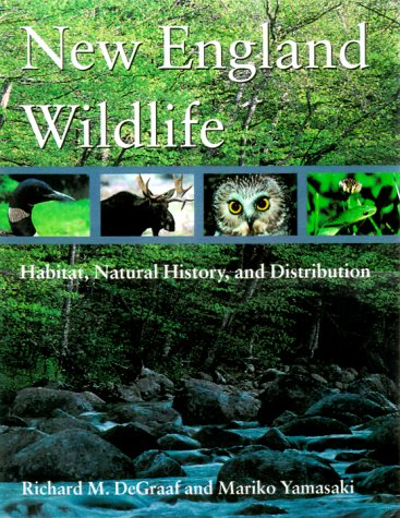 New England Wildlife Habitat, Natural History, and Distribution  2001 edition cover