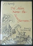 Did Adam Name the Vinegarroon? N/A 9780879233570 Front Cover