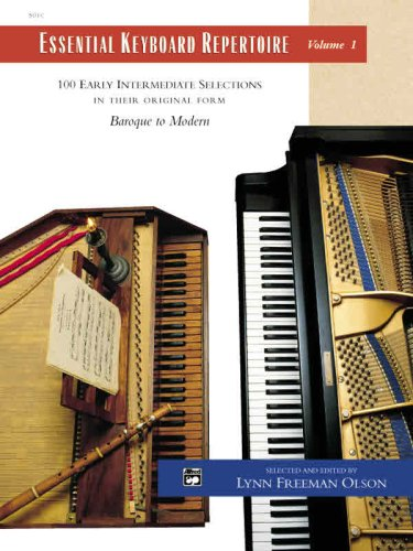 Essential Keyboard Repertoire, Volume 1 100 Early Intermediate Selections in Their Original Form: Baroque to Modern 2nd 1993 edition cover