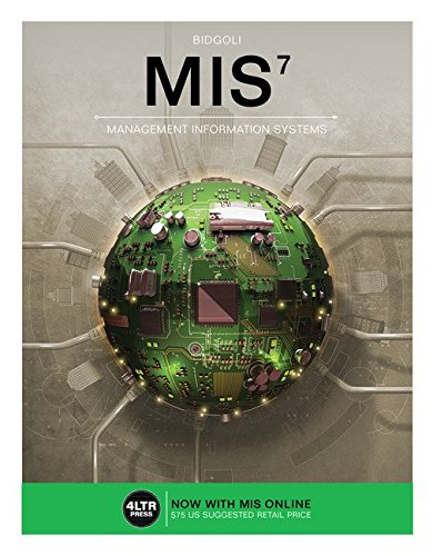 MIS + Mis Online, 1 Term 6 Month Printed Access Card:   2016 9781305667570 Front Cover