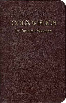 God's Wisdom for Business Success   2008 9781404175570 Front Cover