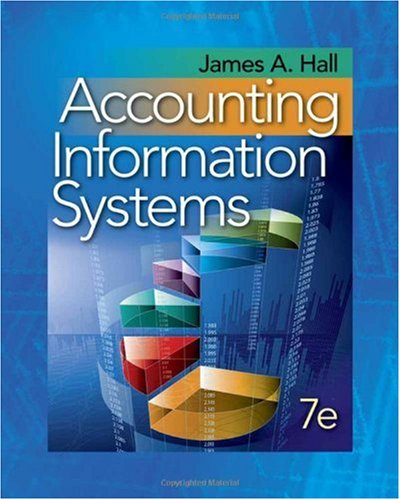 Accounting Information Systems  7th 2011 edition cover