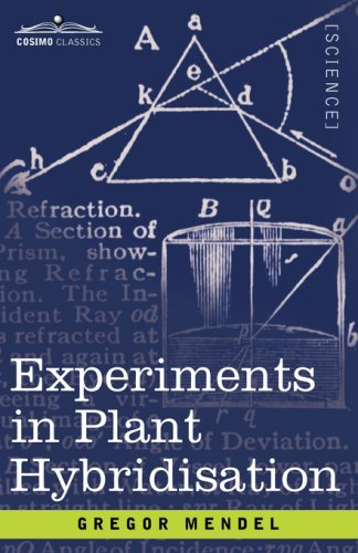 Experiments in Plant Hybridisation:   2008 edition cover