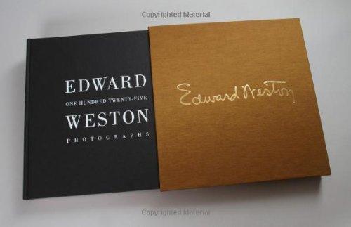 Edward Weston: One Hundred Twenty-Five Photographs   2011 9781934429570 Front Cover