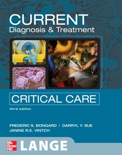 Current Diagnosis and Treatment Critical Care  3rd 2008 edition cover