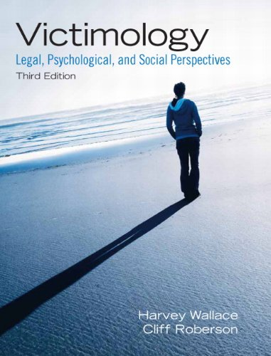 Victimology Legal, Psychological, and Social Perspectives 3rd 2011 edition cover