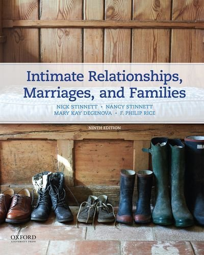 Intimate Relationships, Marriages, and Families  9th 2017 9780190278571 Front Cover