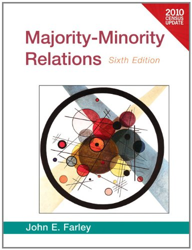 Majority-Minority Relations Census Update  6th 2012 (Revised) edition cover