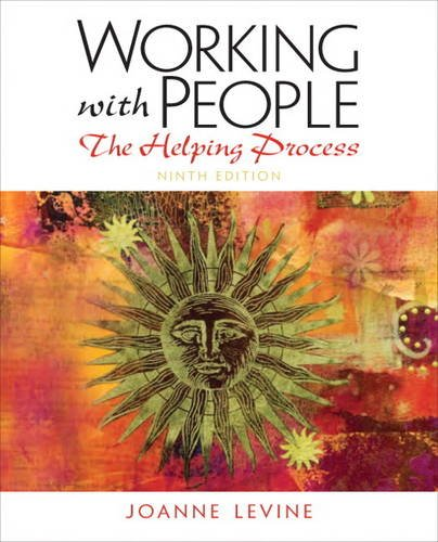 Working with People The Helping Process 9th 2013 (Revised) edition cover