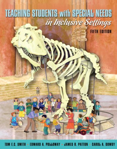 Teaching Students with Special Needs in Inclusive Settings  5th 2008 edition cover
