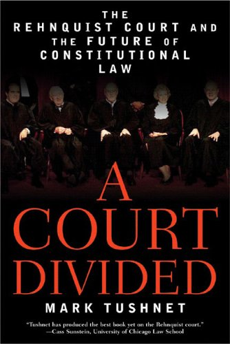 Court Divided The Rehnquist Court and the Future of Constitutional Law N/A edition cover