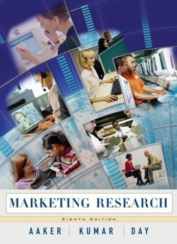 Marketing Research  8th 2004 (Revised) edition cover