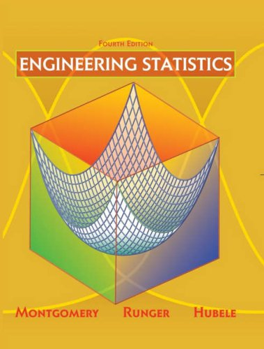 Engineering Statistics  4th 2007 (Revised) edition cover