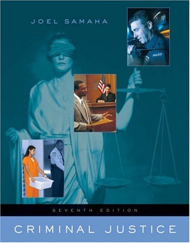Criminal Justice  7th 2006 (Revised) edition cover
