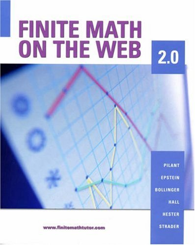 Finite Math on the Web 2.0  2nd 2005 9780534997571 Front Cover