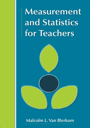 Measurement and Statistics for Teachers   2009 edition cover