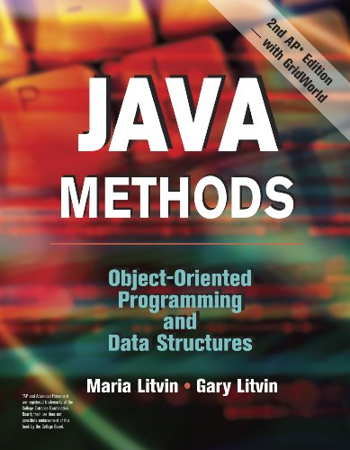Java Methods Object-Oriented Programming and Data Structures N/A edition cover